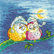 Night Owls Cross Stitch Kit
