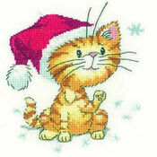 Catching Snowflakes Cross Stitch Kit