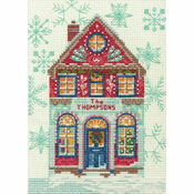 Holiday Home Cross Stitch Kit