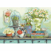 Garden Collectibles Cross Stitch Kit