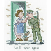 We'll Meet Again Cross Stitch Kit