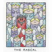 The Rascal Cross Stitch Kit