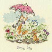 Sunny Day Cross Stitch Kit