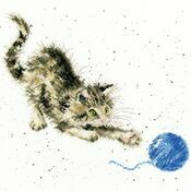 Kitty Cross Stitch Kit