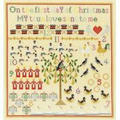 On The First Day Cross Stitch Kit