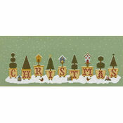 Christmas Pots Cross Stitch Kit
