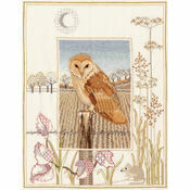 Wildlife - Barn Owl Cross Stitch Kit