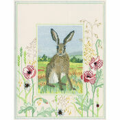 Wildlife - Hare Cross Stitch Kit