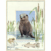 Wildlife - Otter Cross Stitch Kit