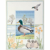 Wildlife - Mallard Cross Stitch Kit