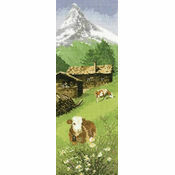 Alpine Meadow Cross Stitch Kit