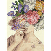 Garden Lady Cross Stitch Kit