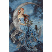 Wind Moon Fairy Cross Stitch Kit