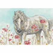 Wild Horse Cross Stitch Kit