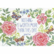 This Day Verse Cross Stitch Kit