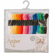 Anchor Stranded Cotton Thread - 18 Skeins Essential Assortment