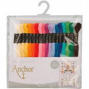 Anchor Stranded Cotton Thread - 18 Skeins Essential Assortment