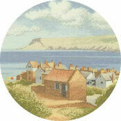 Coastal Village Cross Stitch Kit
