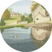 Duck Pond Cross Stitch Kit
