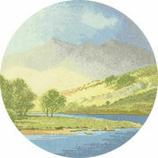 Mountains And Lake Cross Stitch Kit