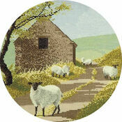 Sheep Track Cross Stitch Kit