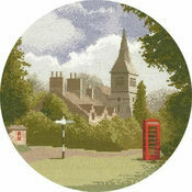 Village Green Cross Stitch Kit