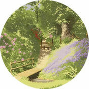 Woodland Walk Cross Stitch Kit