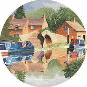 Canal Reflections Cross Stitch Kit