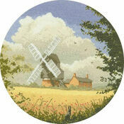Corn Mill Cross Stitch Kit