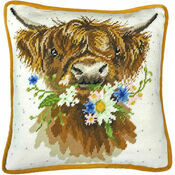 Daisy Coo Cushion Panel Tapestry Kit