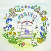 Spring Time Cross Stitch Kit