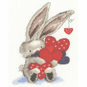 Bebunni Whole Lot Of Love Cross Stitch Kit