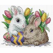 Easter Friends Cross Stitch Kit