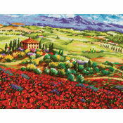 Tuscan Poppies Tapestry Kit