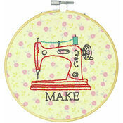 Make Embroidery Hoop Kit