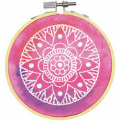 Mandala Embroidery Hoop Kit