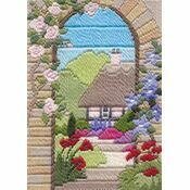 Summer Garden Long Stitch Kit