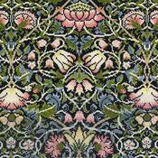 William Morris Bell Flower Cross Stitch Kit