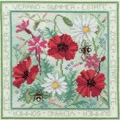 Four Seasons Summer Cross Stitch Kit