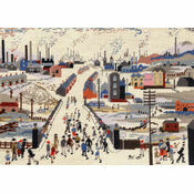 Lowry The Canal Bridge Tapestry Kit