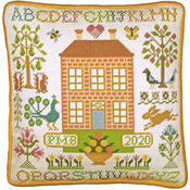 Orchard House Tapestry Cushion Panel Kit
