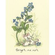 Forget Me Not Cross Stitch Kit