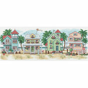 Seaside Cottages Cross Stitch Kit