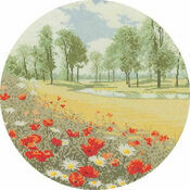 Summer Meadow (Circles) Cross Stitch Kit