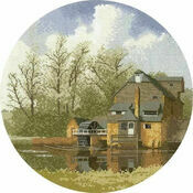 Watermill Cross Stitch Kit
