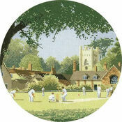 Sunday Cricket Cross Stitch Kit