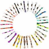 Embroidery Floss - Pastel Colours (36 skeins)