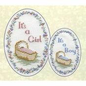 Baby Card Cross Stitch Kit