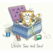 Little Sew & Sew Cross Stitch Kit