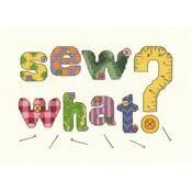 Sew What Cross Stitch Kit